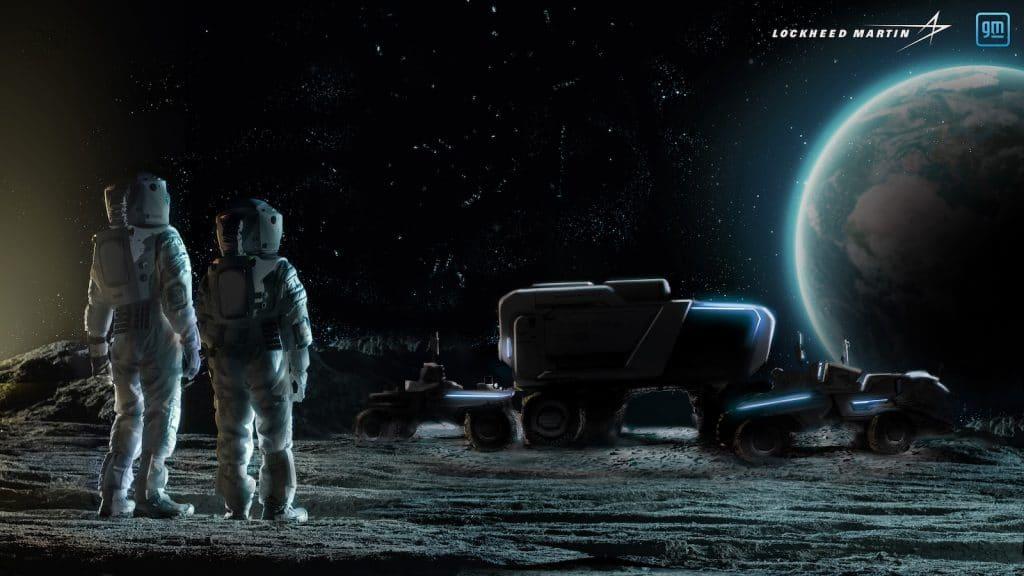 GM Lockheed Martin lunar terrain vehicle