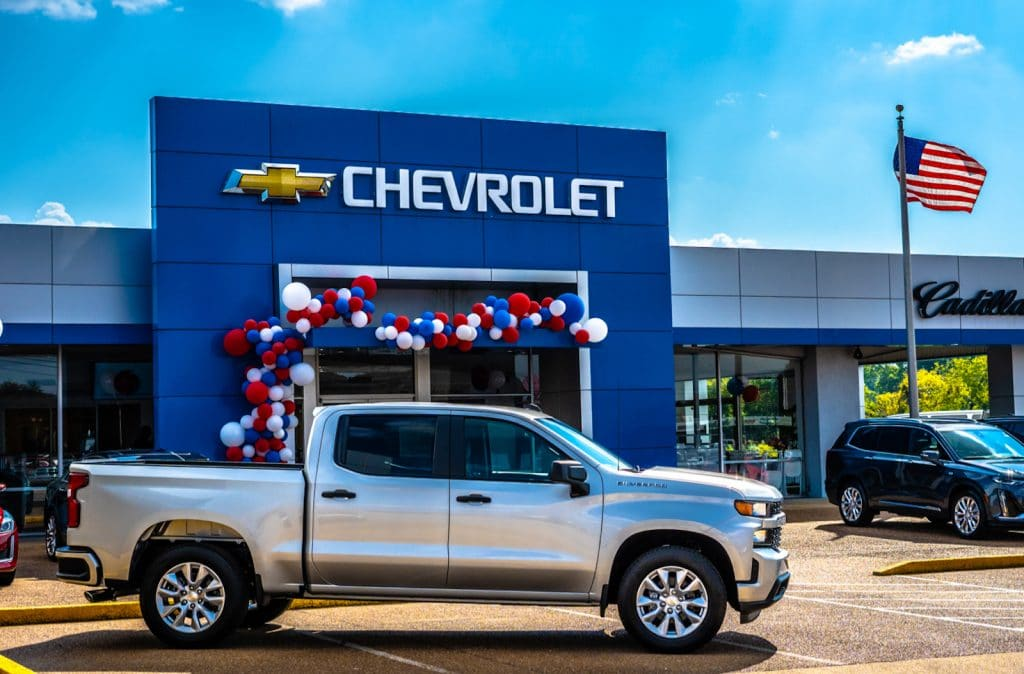 Chevy dealership