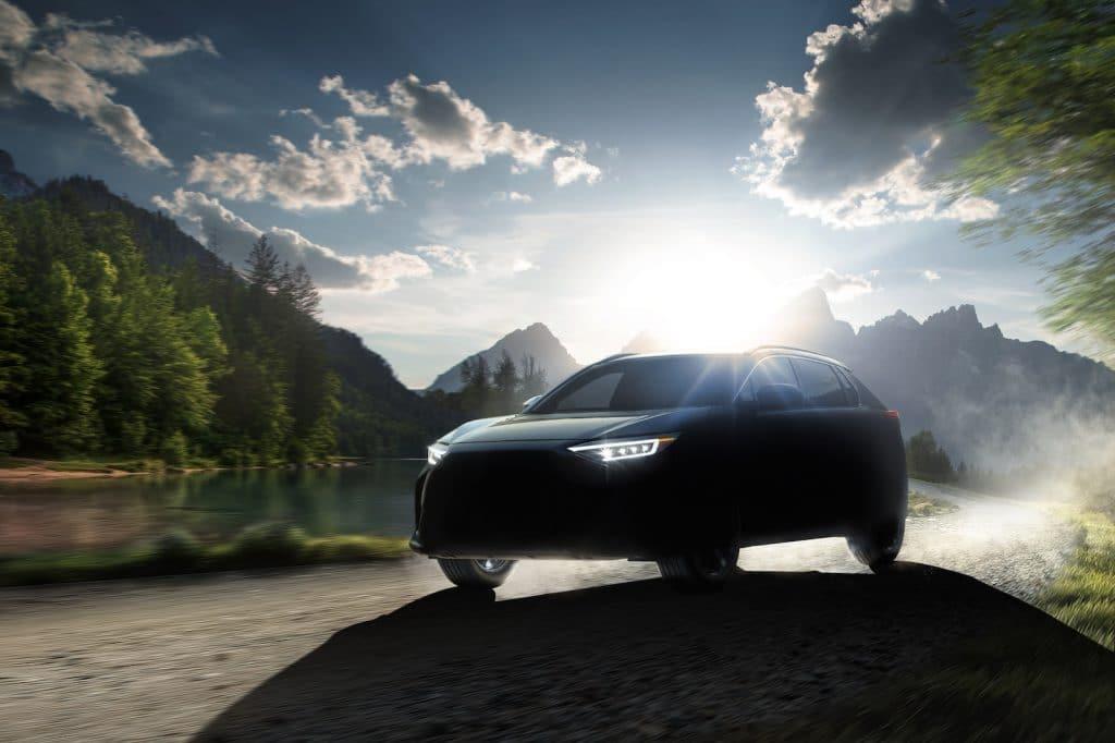 Subaru Solterra EV teaser