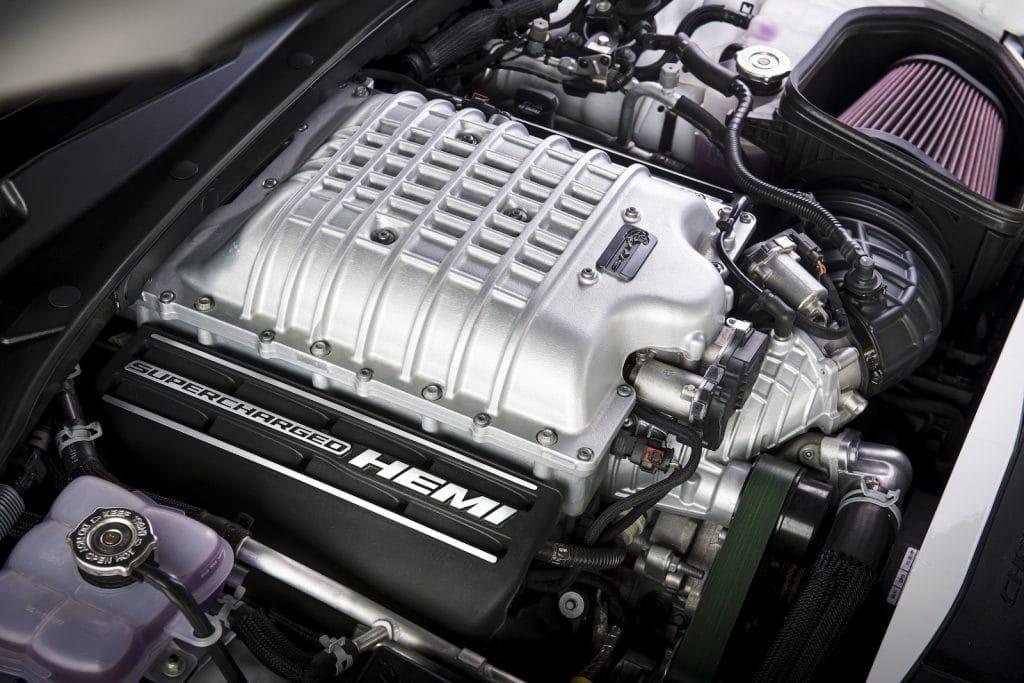2021 Dodge Charger SRT Hellcat Redeye interior Hemi engine