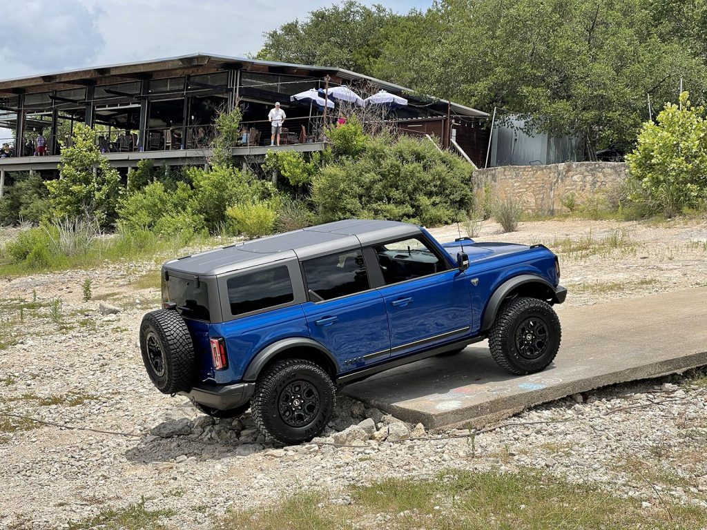 2021 Ford Bronco - Ramp from Beach