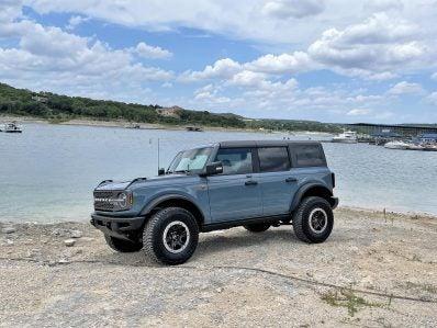 2021 Ford Bronco - on beach