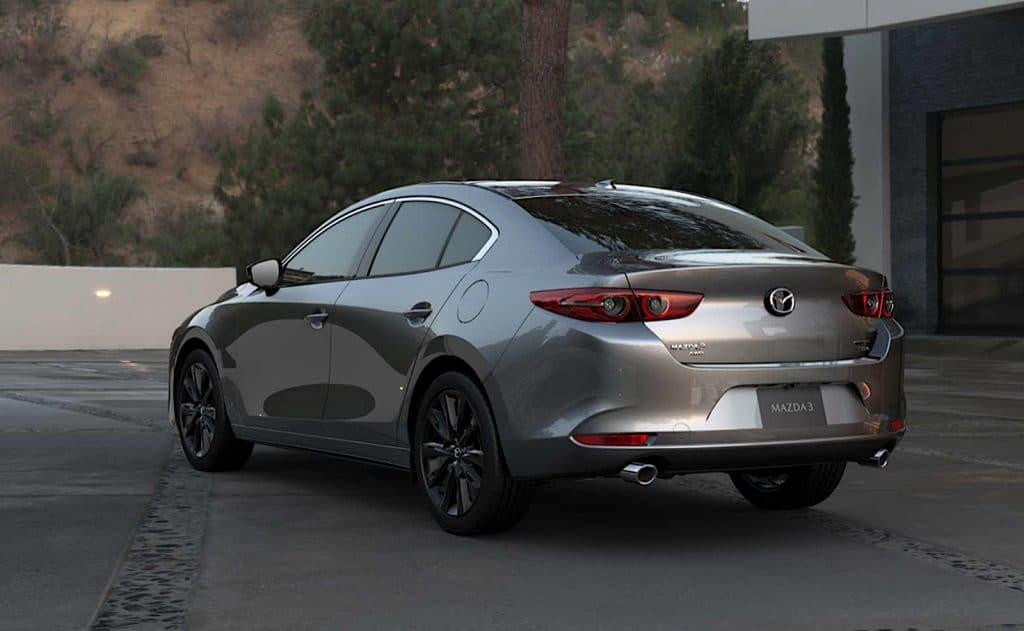 2021 Mazda3 2.5 Turbo sedan rear