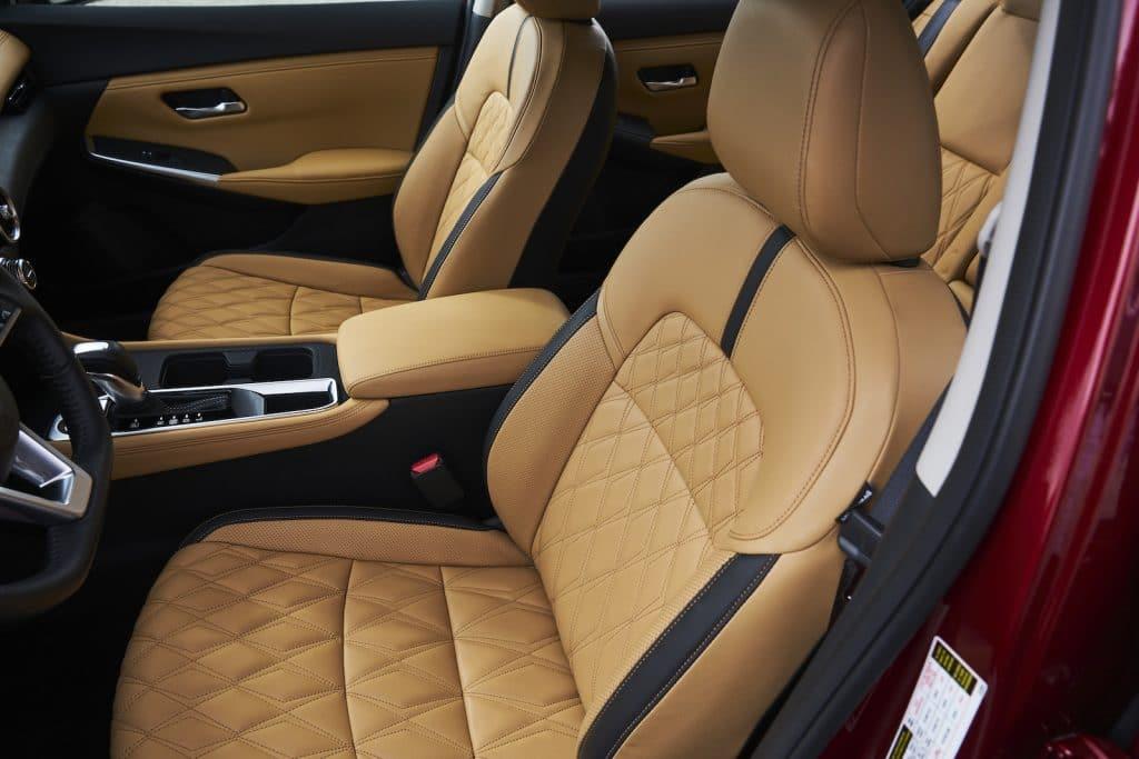 2021 Nissan Sentra seats