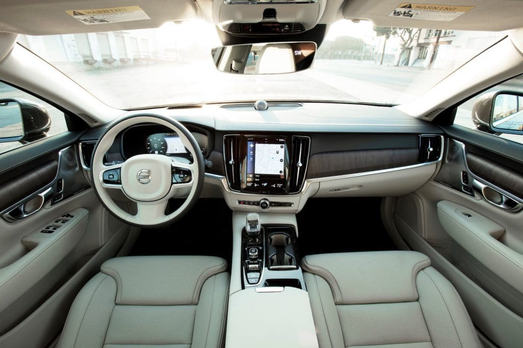 2021 Volvo S90 T8 Recharge interior