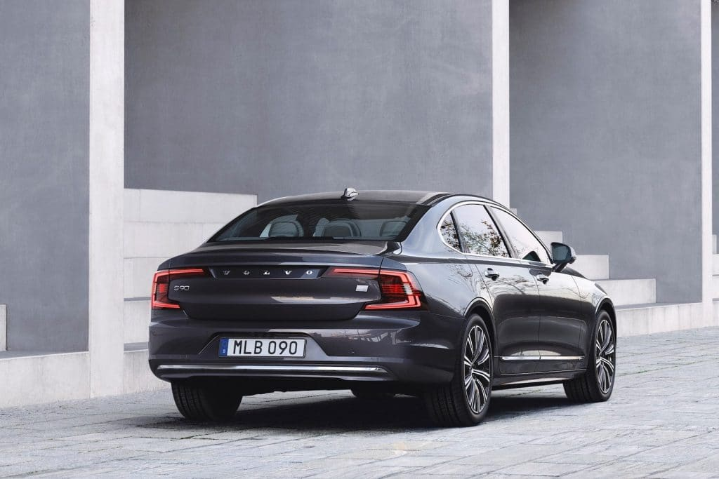 2021 Volvo S90 T8 Recharge rear