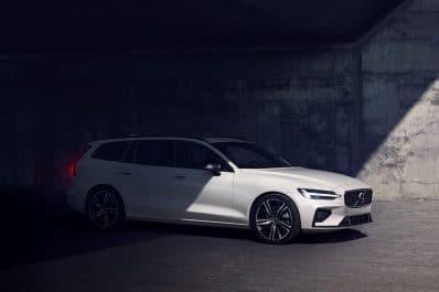 2021 Volvo V60 front