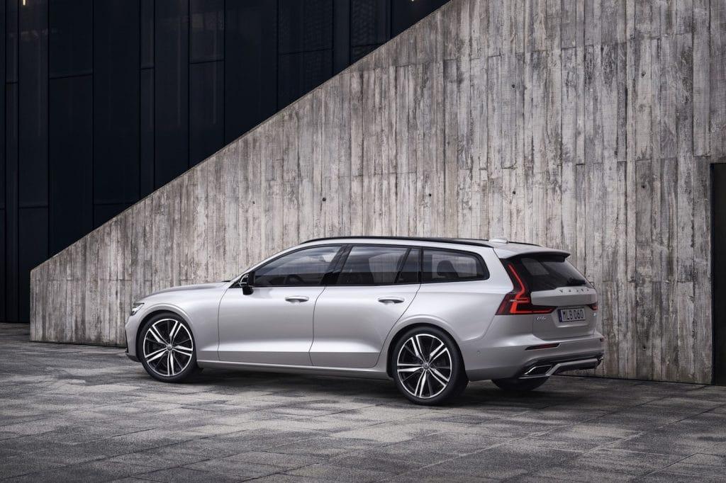 2021 Volvo V60 rear