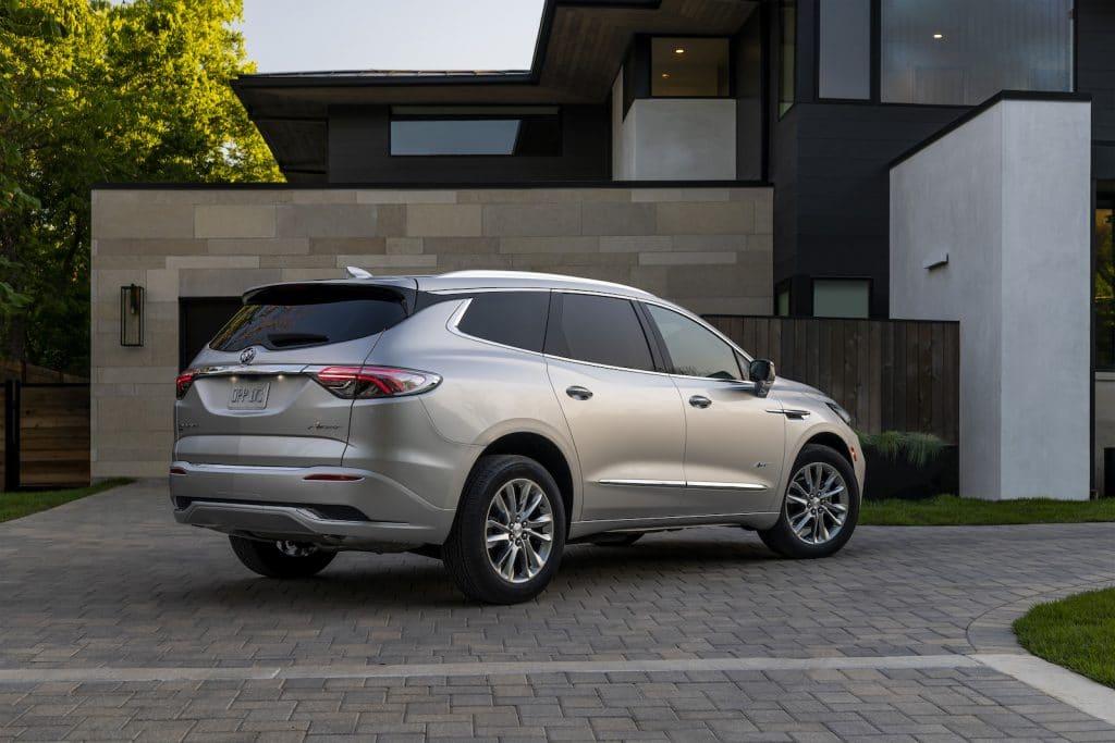 2022 Buick Enclave Avenir champagne rear