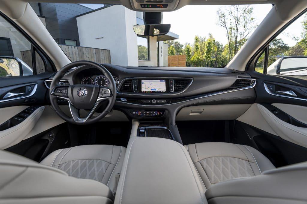 2022 Buick Enclave Avenir champagne interior