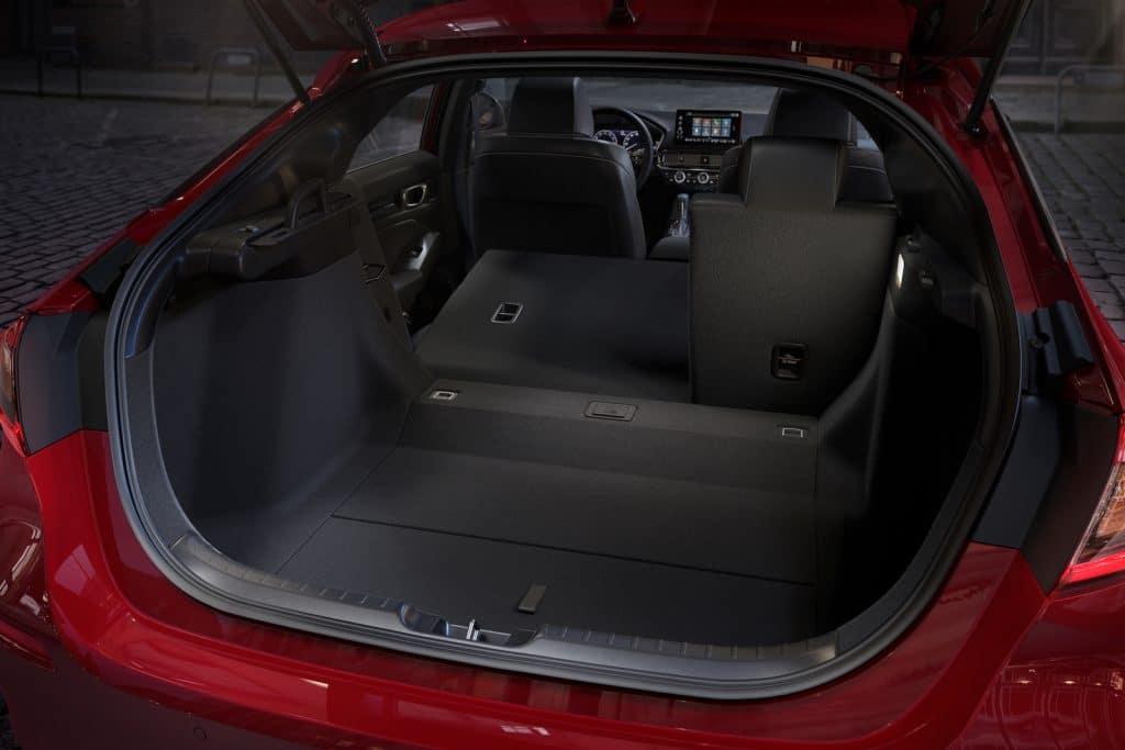 2022 Honda Civic hatchback open
