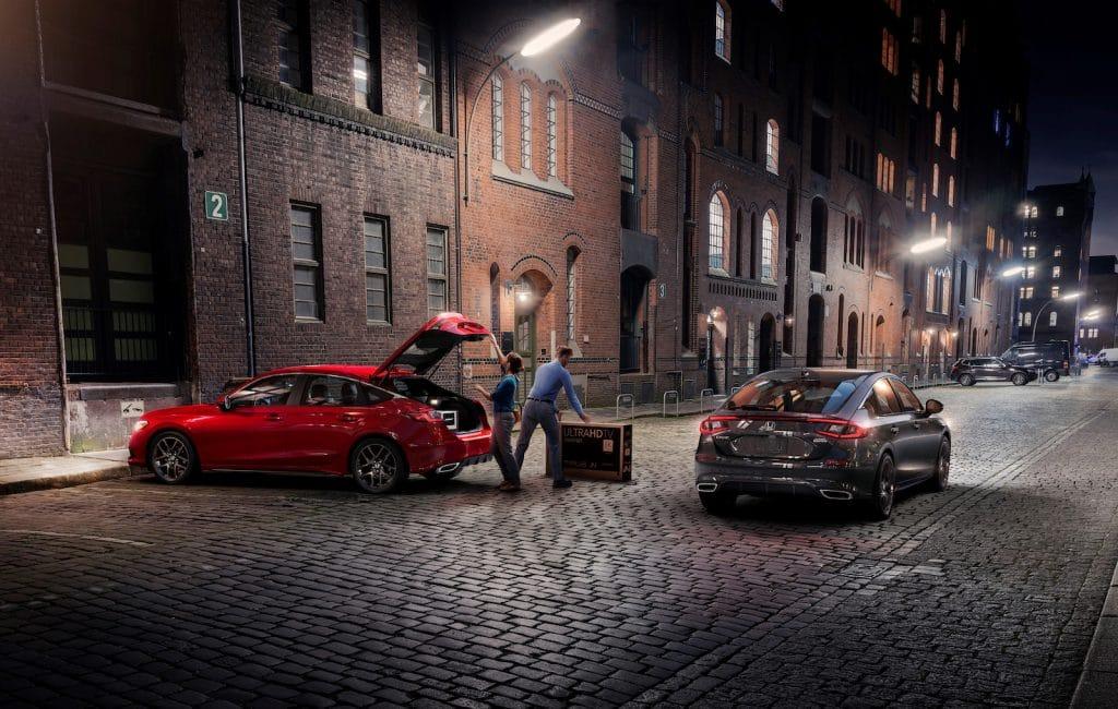 2022 Honda Civic Hatchback pair