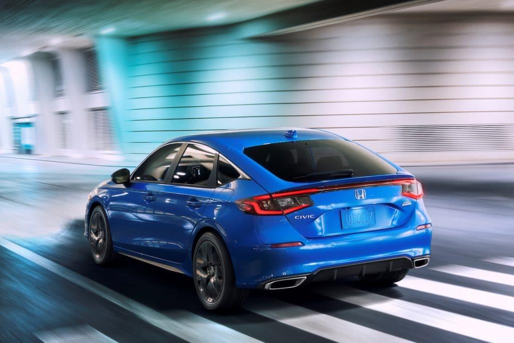 2022 Honda Civic hatchback rear