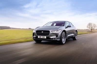 2022 Jaguar I-Pace - front 3-4 driving