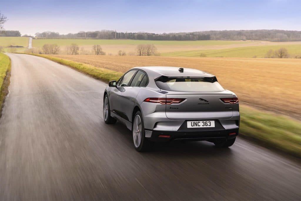 2022 Jaguar I-Pace - rear 3-4 driving