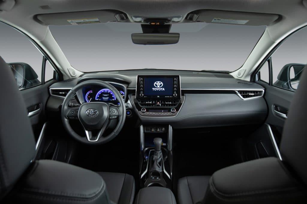 2022 Toyota Corolla Cross Celestite interior