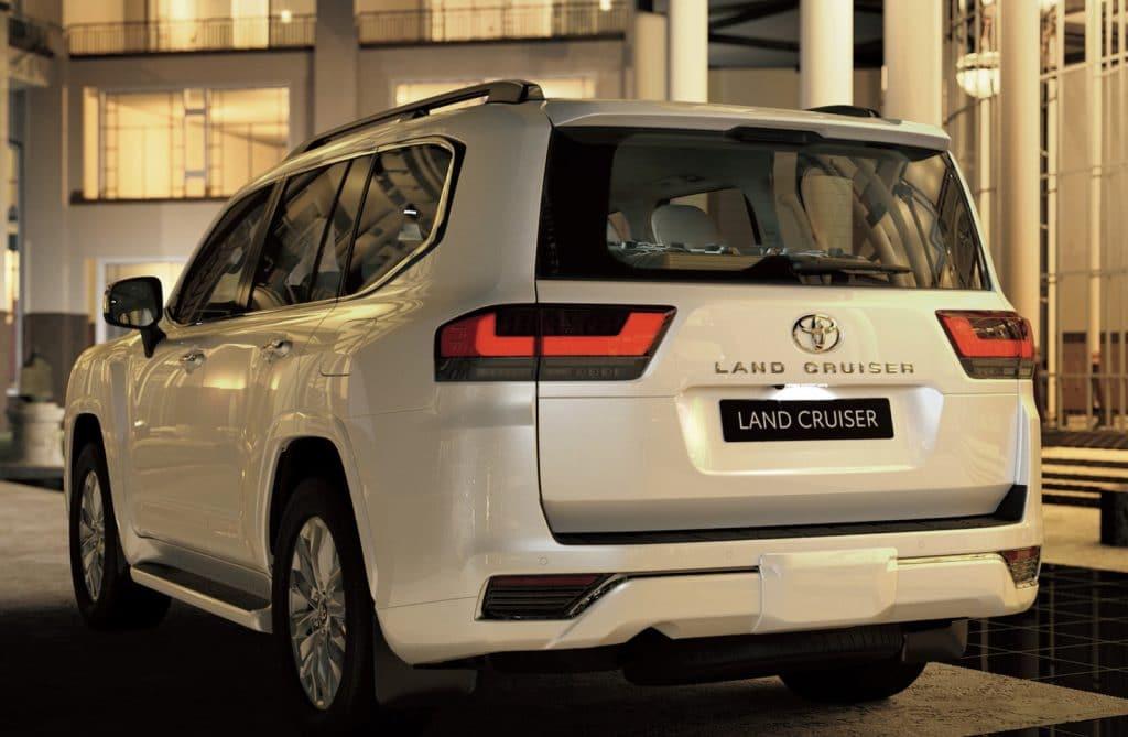 2022 Toyota Land Cruiser rear