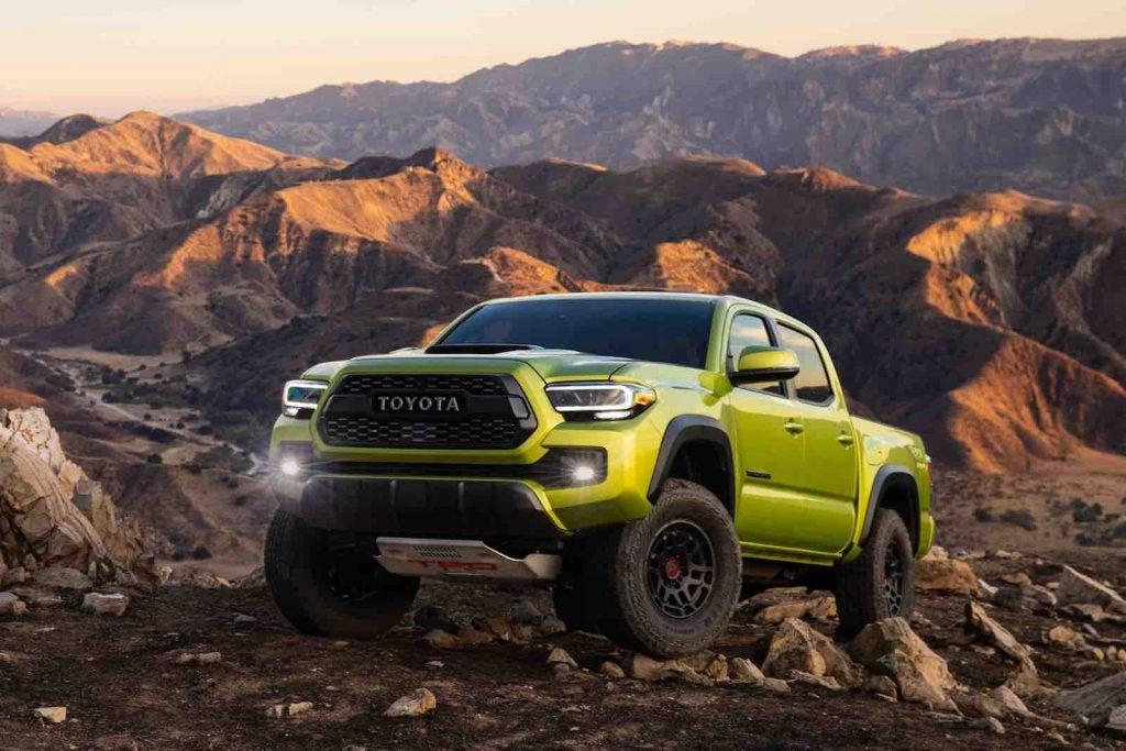 2022 Toyota Tacoma TRD Pro front