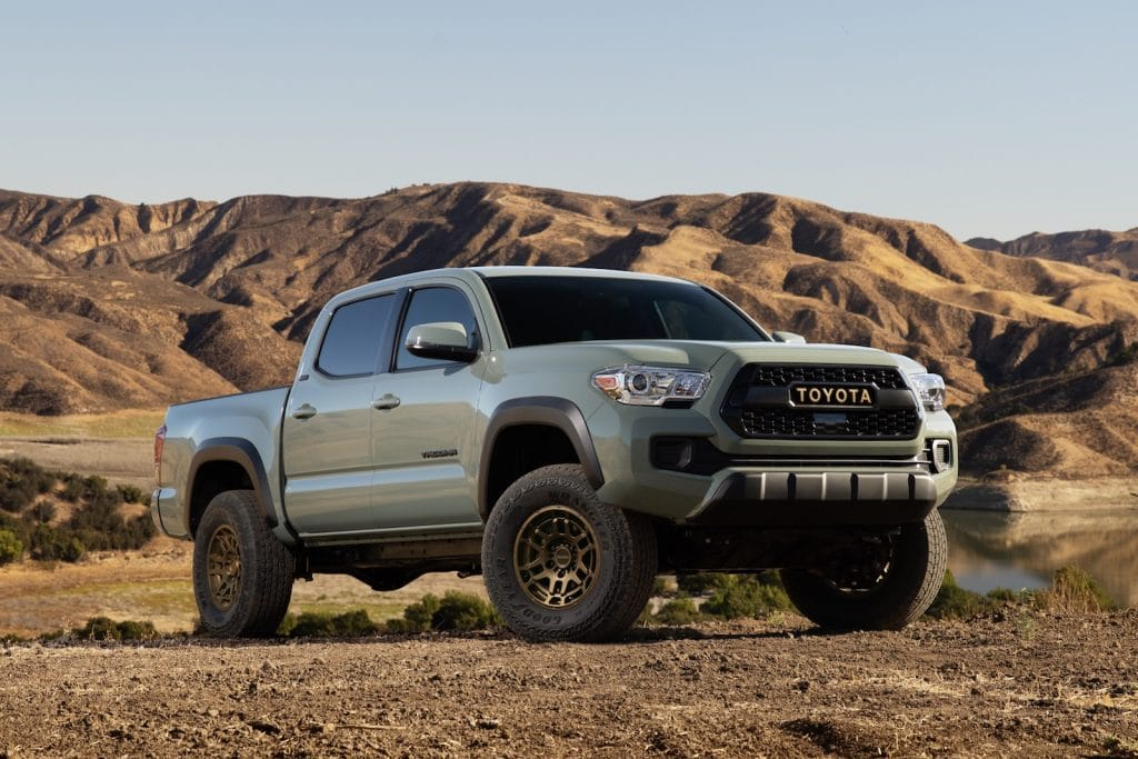 2022 Toyota Tacoma Trail Edition front