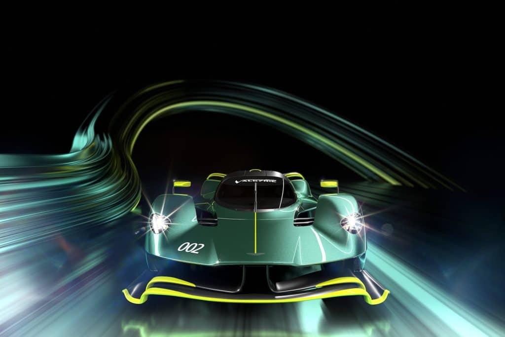 Aston Martin Valkyrie AMR Pro nose