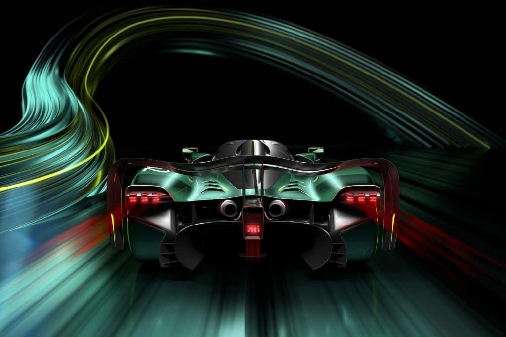 Aston Martin Valkyrie AMR Pro tail