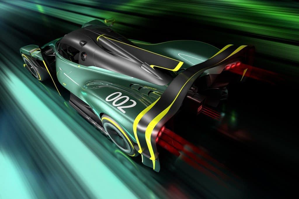 Aston Martin Valkyrie AMR Pro top rear