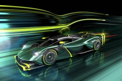 Aston Martin Valkyrie AMR Pro driving
