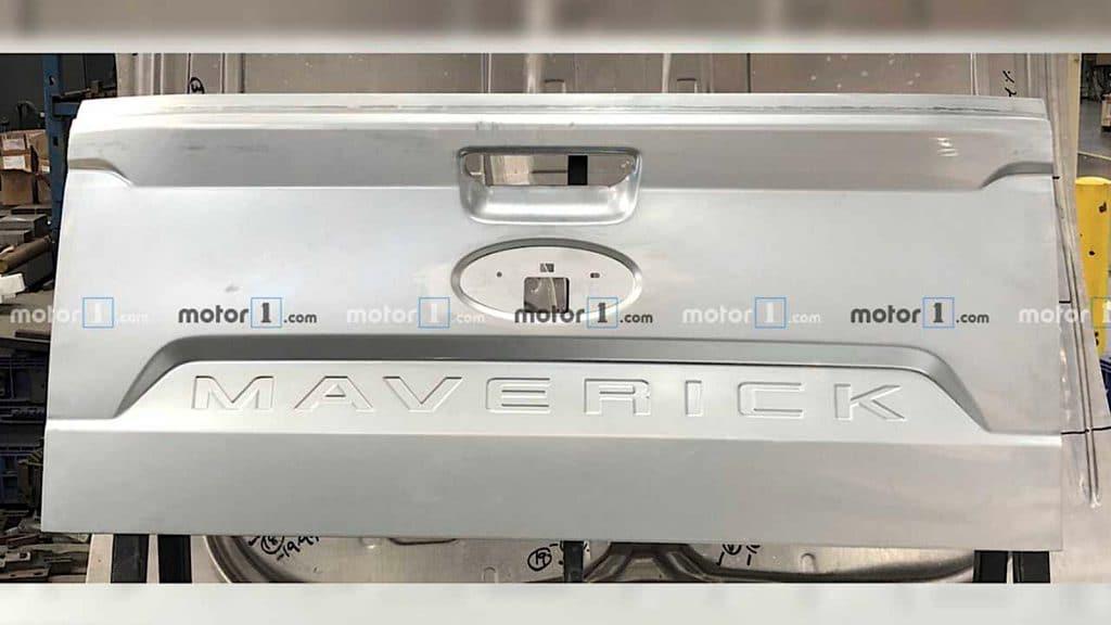 Maverick tailgate Motor1.com