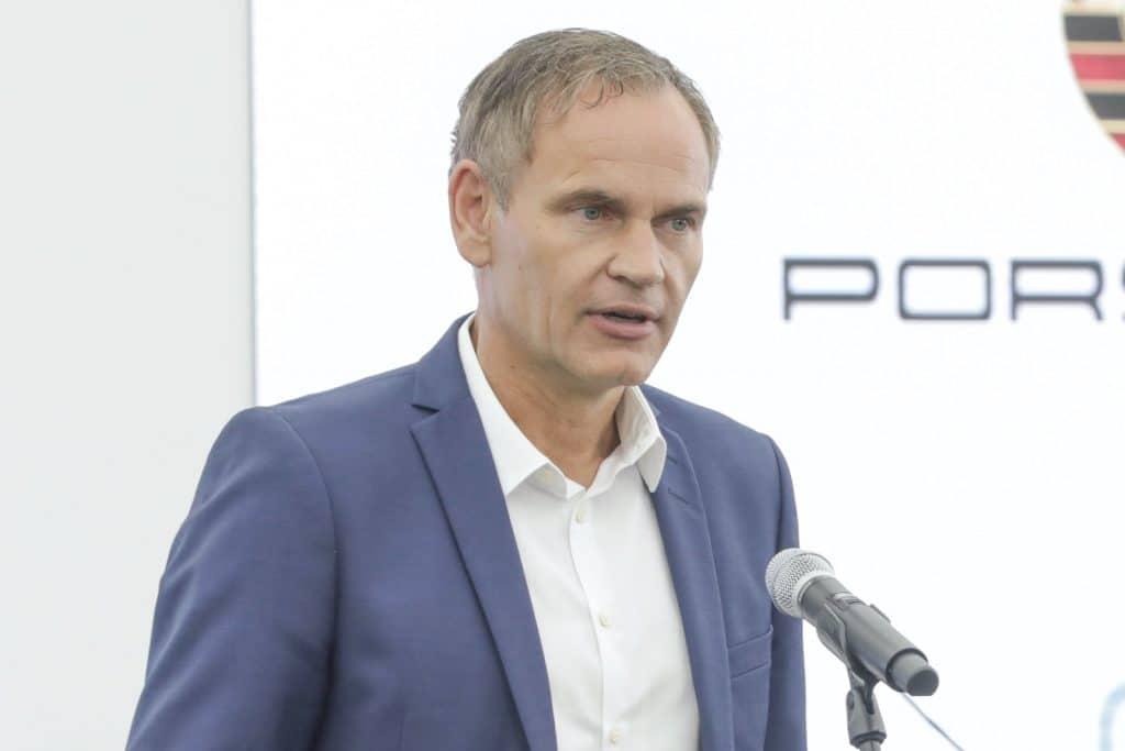 Porsche CEO Oliver Blume