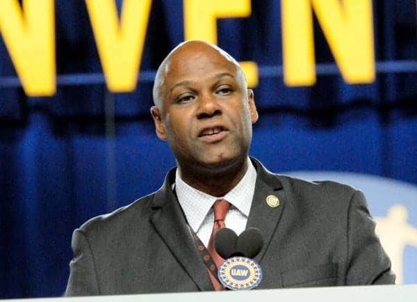 UAW President Ray Curry