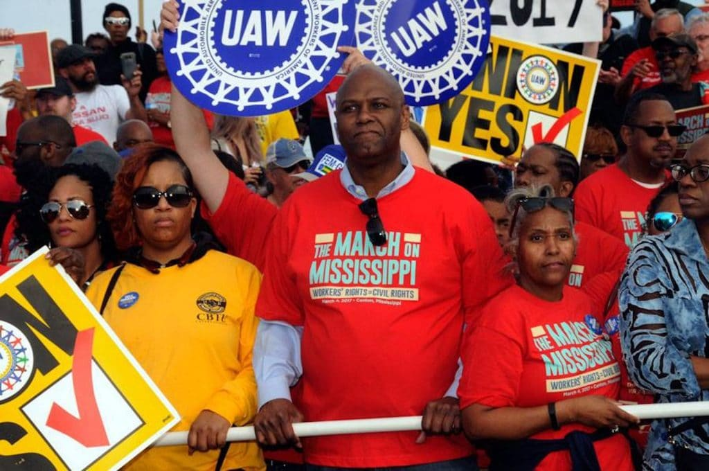 UAW's Ray Curry March on Mississippi