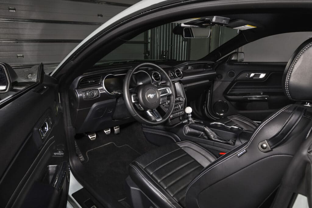 2021 Ford Mustang Mach 1 Premium cockpit