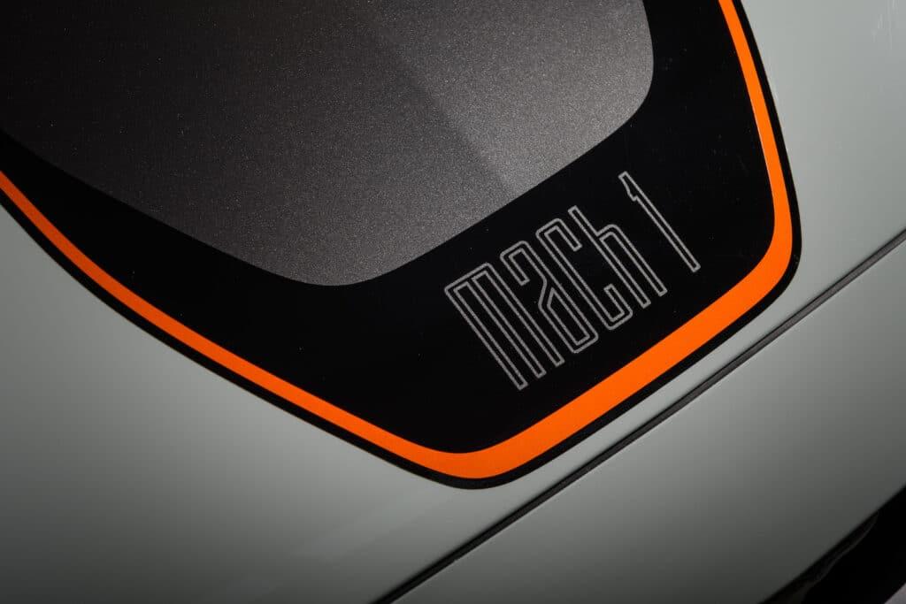 2021 Ford Mustang Mach 1 Premium hood