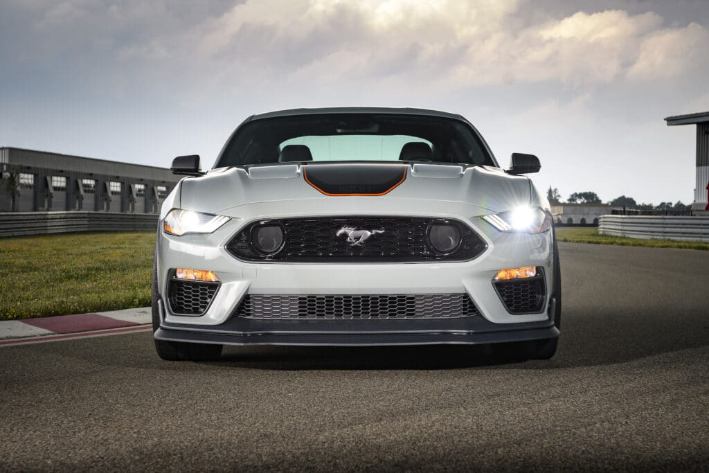 2021 Ford Mustang Mach 1 Premium nose