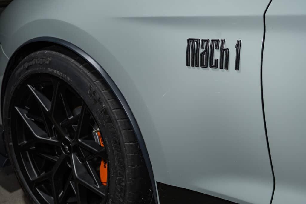 2021 Ford Mustang Mach 1 Premium wheel