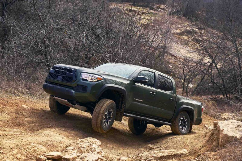 2021 Toyota Tacoma TRD Offroad front