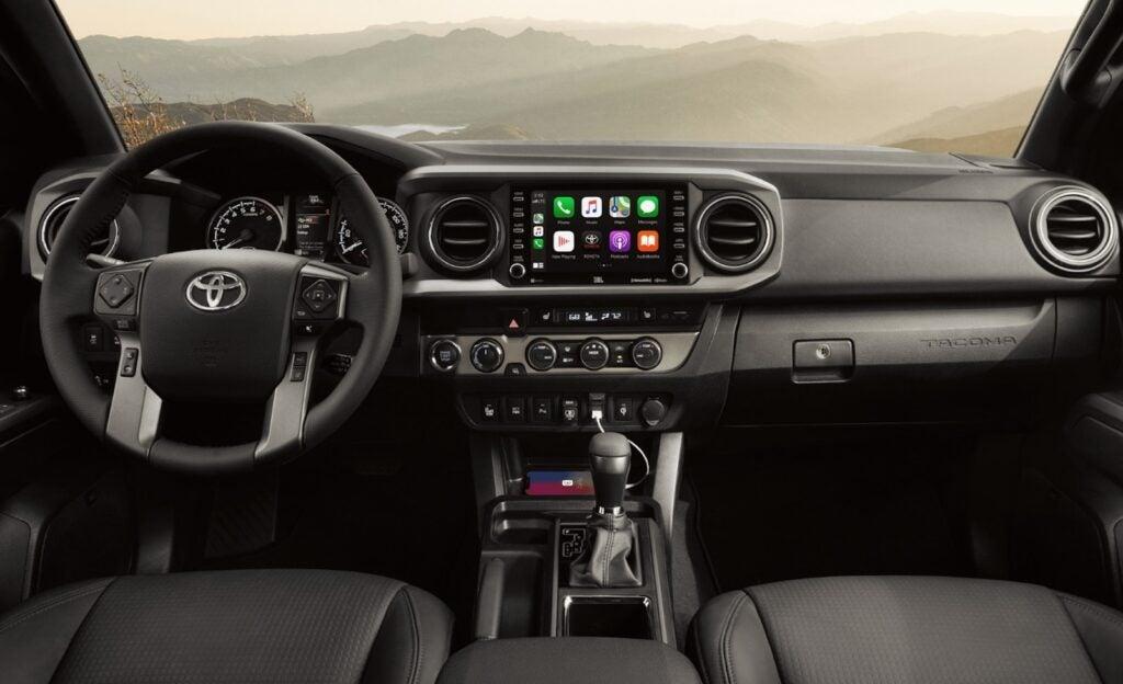 2021 Toyota Tacoma TRD Offroad interior