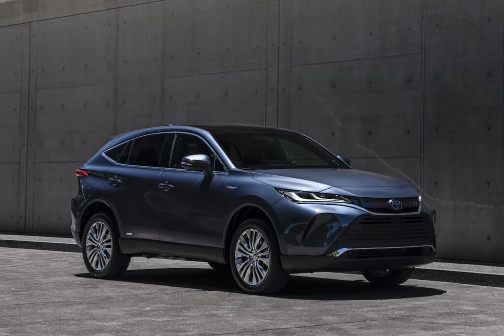 2021 Toyota Venza Limited front
