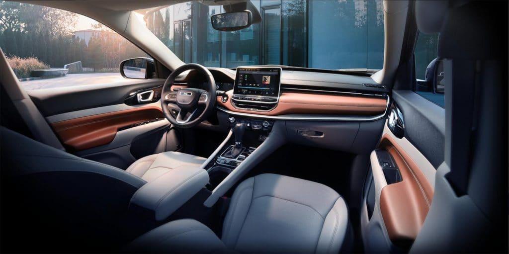 2022 Jeep Compass - interior