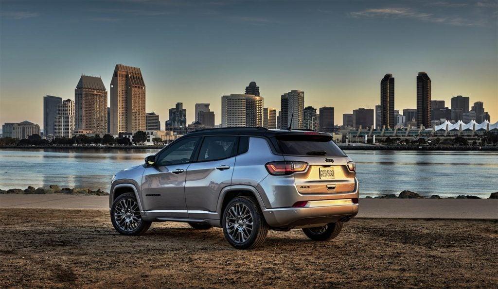 2022 Jeep Compass - rear 3-4