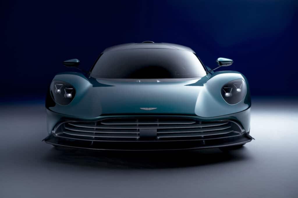 Aston Martin Valhalla nose