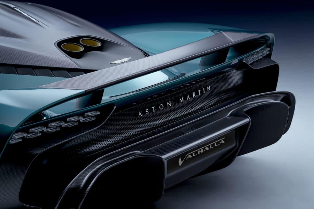 Aston Martin Valhalla spoiler