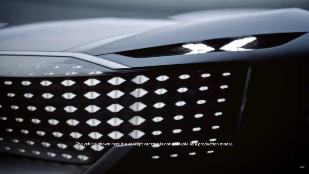 Audi Skysphere Concept headlamp