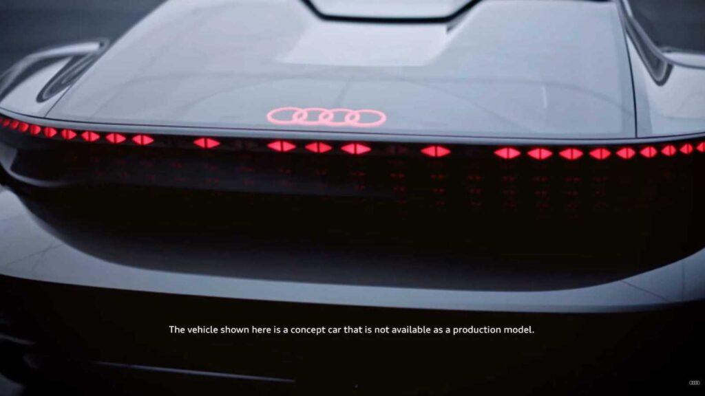 Audi Skysphere Concept rear