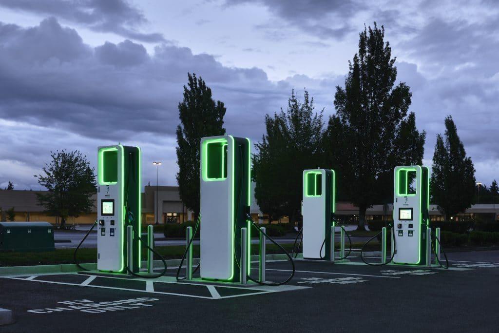 Electrify America charging ports