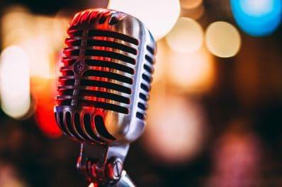 Headlight News Podcast Microphone