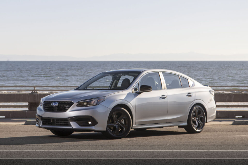 2021 Subaru Legacy front