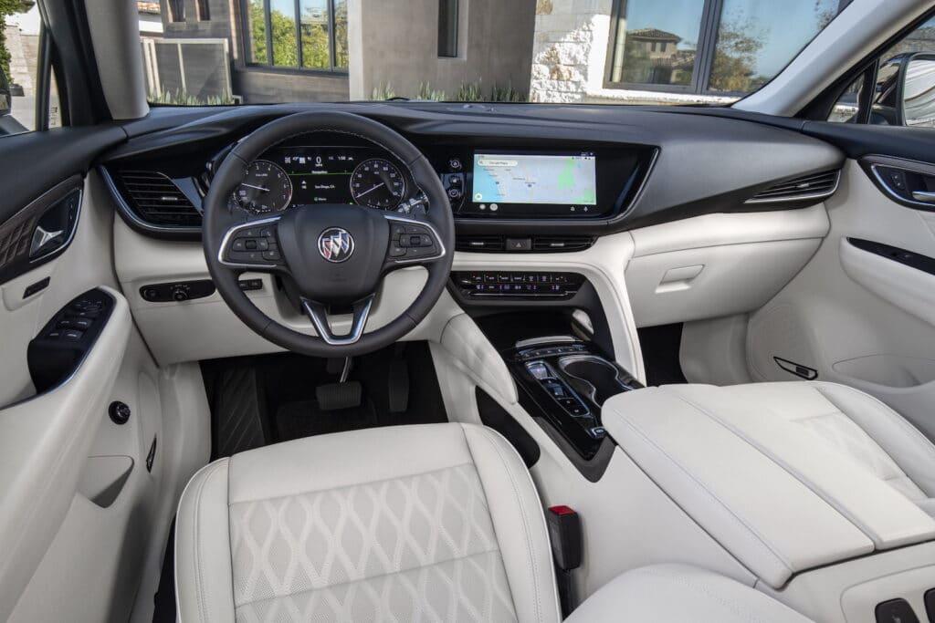 2021 Buick Envision Essence interior