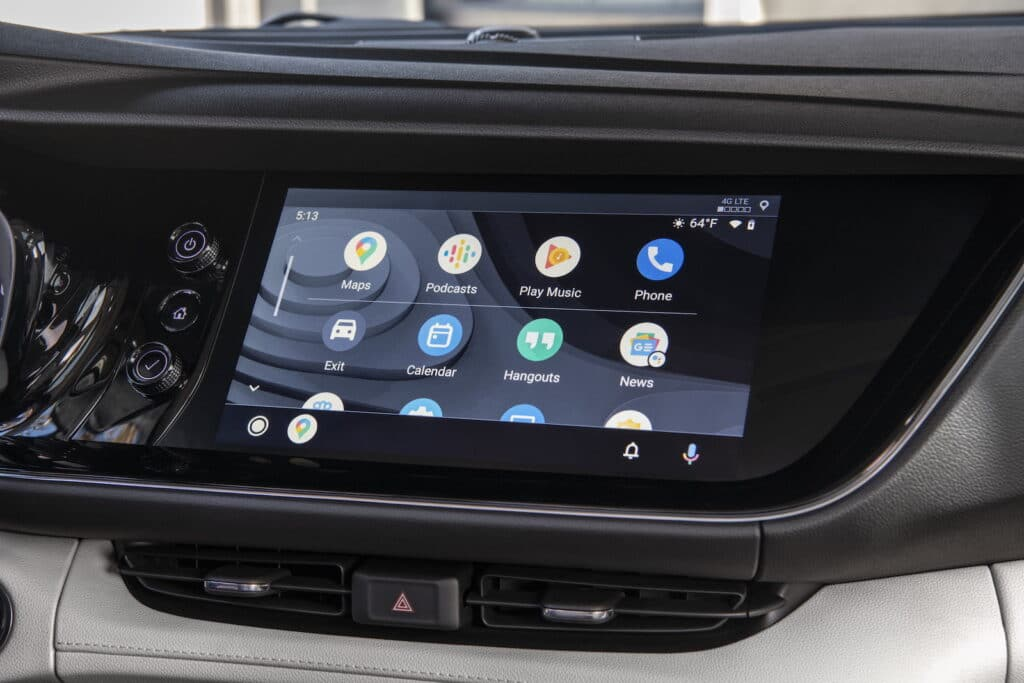 2021 Buick Envision Essence touchscreen