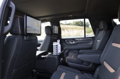 2021 GMC Yukon AT4 rear seats